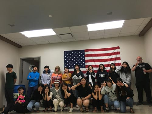 Fun With the International Student Group