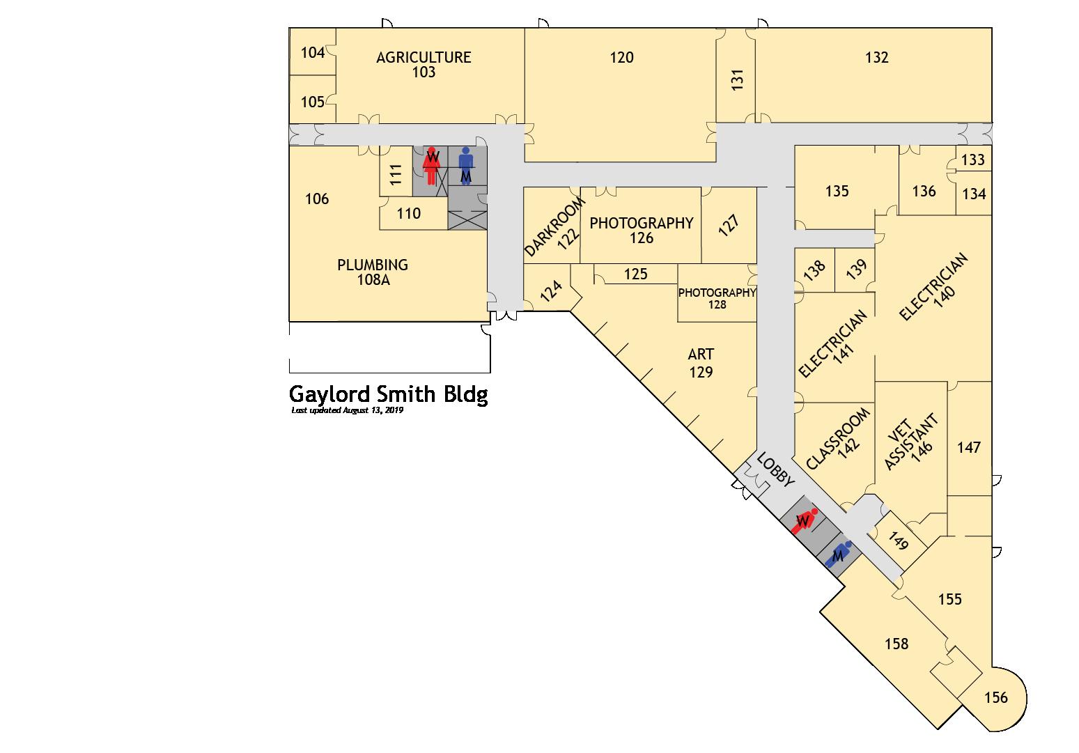 Rockland Community College Campus Map.Witcc Campus Maps