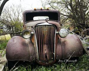 Old Car in Rural Nebraska