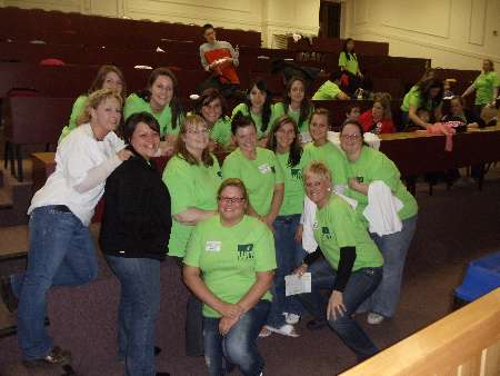 Nursing Students and Instructors volunteer at Autism Parents Night Out